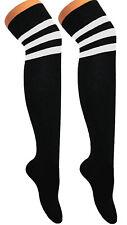 Los Hombres señoras más la knee/thigh Alta árbitro calcetines, Sox tiempo escolar Fancy Dress