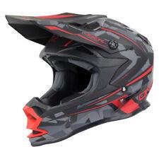 Oneal 2017 7 Series Evo Camo Helmet Matt Red/Grey