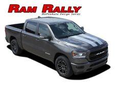 2019 2020 Dodge Ram Racing Stripes Hood Decals RALLY Tailgate Vinyl Graphics Kit