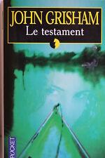 LIVRE POCKET - JOHN GRISHAM - LE TESTAMENT - 2002