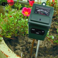 3 in 1 PH Tester Soil Moisture Water Light Test Meter for Garden Plant Flower