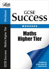 Letts GCSE Success Maths Higher Tier Workbook Year 1 Self Teach Classroom Exam