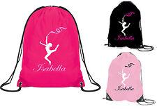 Borsa da palestra ginnastica ritmica Bambina Scuola Discoteca GINNASTA RITMICA personalizzato