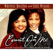 WHITNEY HOUSTON & CECE WINANS Count on me & I'm Every woman MIX UK CD single