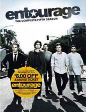 Entourage - The Complete Fifth 5th Season (DVD, 2015, 3-Disc Set) NEW