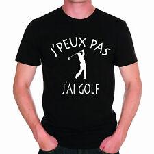 T-shirt HOMME J'PEUX PAS J'AI GOLF