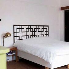 Dorm Headboard Wall Decal Master Couple Bedroom Vinyl Art Removable Decor Idea
