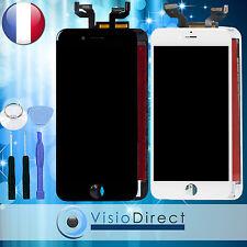 Ecran complet pour iPhone 6S Plus blanc/noir vitre tactile + LCD sur chassis