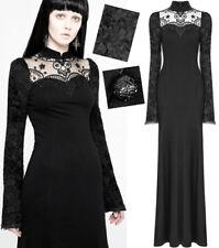 Robe longue soirée gothique lolita victorien baroque dentelle broderie PunkRave