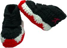 Crochet Baby Sneaker J Basketball Air Red Black White Infant Jordan 11 Bred