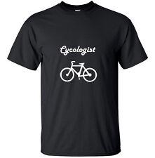 Cycologist - Funny Bike Cycle Adult T-Shirt Black Cool Pride Custom