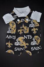 NFL New Orleans Saints Baby Infant Toddler Boys Jumper Overalls * YOU PICK SIZE