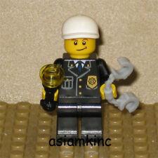 LEGO City Mini Figure Police With Flashlight Handcuffs