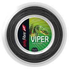 Polyfibre Viper Tennis String 200m Reel (Silver)