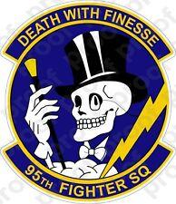 STICKER USAF  95TH FIGHTER SQUADRON C