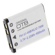 Batterie pour Olympus li-40b li-42b/Nikon en-el10/Fuji np-45/Casio np-80 np-82