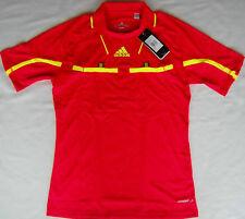 Adidas Schiedsrichter Referee Trikot rot / gelb kurzarm NEU!!!