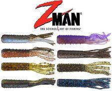 "Z MAN TRD TUBEZ,  2.75"",  6 PER PACK, NEW, CHOICE OF COLORS"
