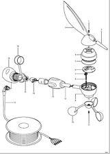 Raymarine autohelm st60, st60 +, st70, st290 girouette girouette pièces de rechange vent