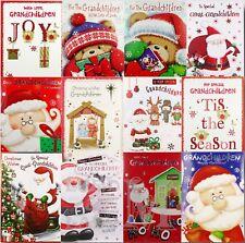 Grandchildren / Great-Grandchildren Christmas Cards - Various Designs Available