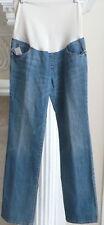 Liz Lange Jeans Pants Maternity Blue Jean Bootcut Light Denim Bottoms Pant