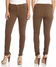 Karen Kane 2L82093 Olive Green Colored Zuma Twill Stretch Skinny Jeans - $109