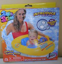 Deluxe Baby Boat Float Raft Swim School Water
