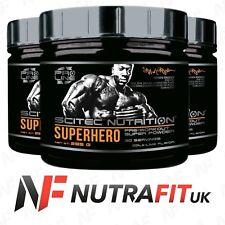 SCITEC NUTRITION SUPERHERO PRO LINE pre-workout stimulant super powder