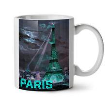 Parigi City Night Fashion Nuova Tazza da Caffè Tè Bianco 11 OZ (ca. 311.84 g) | wellcoda