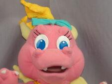 PLAYSKOOL POSEABLE PLUSH PINK GIRL DRAGON TALES CASSIE PLUSH STUFFED ANIMAL BABY