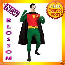 C826 Licensed Robin 2nd Skin Suit Zentai Halloween Fancy Dress Adult Costume
