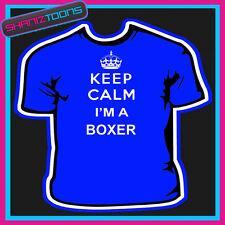 Keep Calm Boxer Adultos Mens Damas Regalo Camiseta