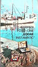 CORREDI FOTO CINE KODAK INSTAMATIC 1975 Catalogo Fotografia Fotografica Macchina