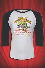Rock Super Bowl UFO Foreigner Vintage 1982 Tour Tee T-shirt Heavy Metal FREE S&H