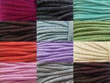 (0,87€/m) 3 Meter Baumwollschnur Baumwollkordel - 8 mm - viele Farben