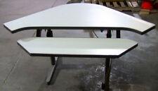 Arrow Head Shaped 2-Part Adjustable Computer Table
