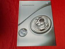 """VW New Beetle """"Sport Edition"""" Spécial Modèle prospectus + liste de prix de 2001"""