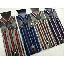Suspenders Adjustable Elastic Clip On Unisex Braces Mens Women Y-shape Accessory