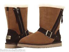 New UGG Australia Women BLAISE Sheepskin Brown Chestnut Winter Snow Boots Shoes