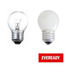 Eveready 60W vis Edison E27 Balle de golf transparent Opale LAMPE 240V