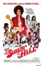 Sugar Hill Movie POSTER (1974) Blaxploitation/Action