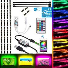 Smart WiFi RGB 5050 LED Strip Light USB TV Backlight 5V For Alexa Google Home