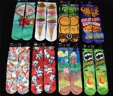 Odd Sox Family Guy*Ice Cream*Ren & Stimpy*Arnold ETC Crew Socks Mns 6-13 NWT