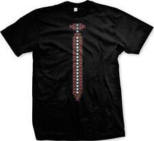Pixels Pixelated Fake Tie Funny Humor Joke Parody Nerdy Geeky Pride Mens T-shirt