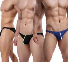 Men Fashion Low Rise Sexy Comfy Bulge Pouch Bikini Briefs Comfy Underwear Shorts