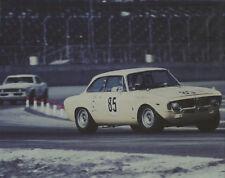 Vintage Color 8 X 10 1967 Daytona TransAm Alfa Romeo GTA Jim Baker & Camaro