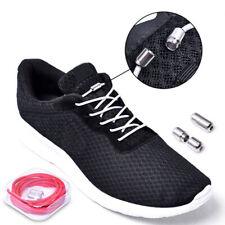 310e09a66624 No Tie Lazy Shoelace Solid Buckle Free Elastic Children Adult Creative Shoe  Lace