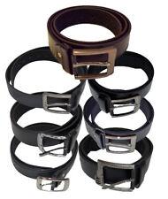 bronze  Hosengürtel Unisex NEU diverse Größen Jeansgürtel mit Schnalle  silber