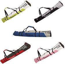 BRUBAKER 'Carver Pro' Skisack Skitasche Ski Tasche Bag für 1 Paar Ski + Stöcke