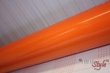 GLOSS Arancione Veicolo Avvolgere Vinile 0.3 M X 1,5 M AIRFREE